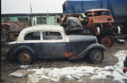 ГАЗ ММ (полуторка) 1942 года