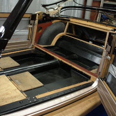 Реставрация деревянного каркаса довоенных автомобилей