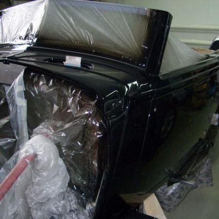Окраска – этап реставрации авто