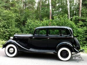 ГАЗ М-1 1938 года (Молотовец-1) - первый отечественный легковой автомобиль