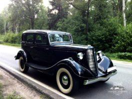 ГАЗ М-1 1938 года - легендарный автомобиль СССР