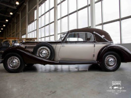Horch 853 - коллекционный автомобиль 1936 года выпуска, характеристики, цена, купить в России
