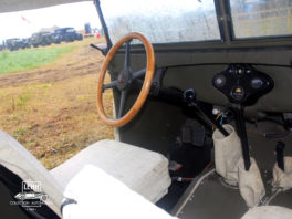 ГАЗ 67 1943 года - интерьер