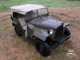 Коллекционный автомобиль ГАЗ 67 1943 года выпуска