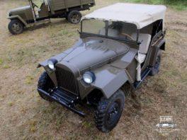 ГАЗ 67, 1943 года - реставрация военной техники СССР
