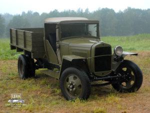 Коллекционный автомобиль ГАЗ ММ полуторка 1942 выпуска