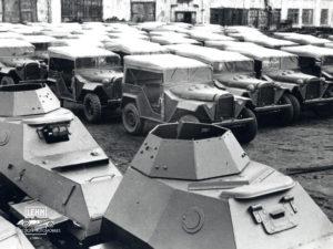 ГАЗ 67 1943 года - военные фотографии