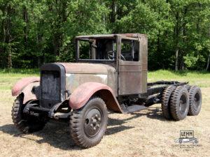 Коллекционный автомобиль ЗИС 6 1938 года выпуска