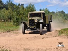 ГАЗ ММ полуторка 1942 - реставрация военной техники СССР.