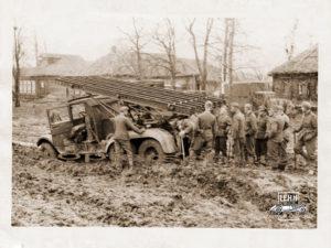 Автомобиль ЗиС-6 «Катюша», СССР, архив