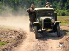 Грузовой военный автомобиль ГАЗ-ММ 1942 отреставрированный