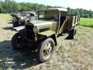 Грузовой военный автомобиль ГАЗ-ММ 1942 - знаменитая фронтовая полуторка
