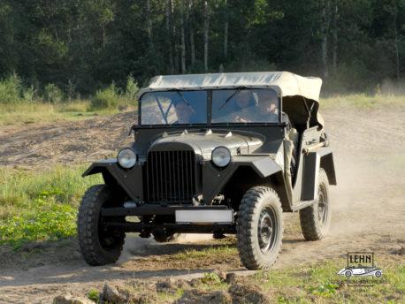 Коллекционный ГАЗ 67 1943 года выпуска