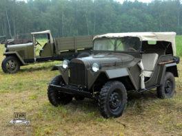 ГАЗ 67, 1943 года - реставрация, ремонт и обслуживание