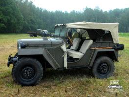 ГАЗ 67, 1943 года, автомобиль - участник Второй мировой войны
