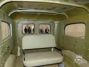 Dodge WC-17 - интерьер, салон