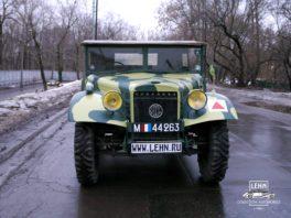 Latil M7 T1 - реставрация военной техники франция