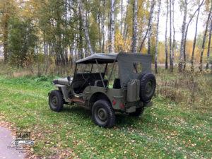 Willys MB 1943 года - характеристики, цена, купить в России