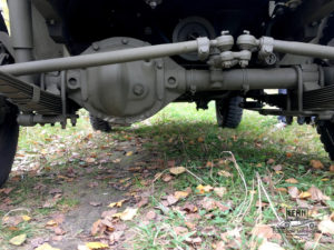 Willys MB 1943 года - ходовая