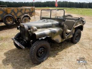 Коллекционный автомобиль ГАЗ 64 1941 года выпуска