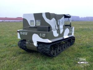 Weasel M29 1944 года - реставрация, ремонт и обслуживание
