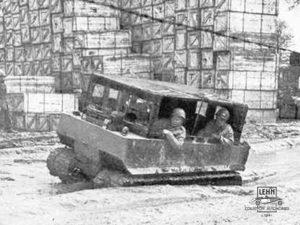 Weasel M29 1944 года - военная фотография