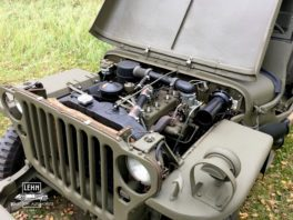 Willys MB 1943 года - под капотом в деталях